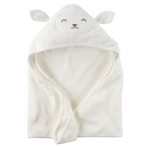 Baby Neutral Little Lamb Hooded Towel | Carters.com