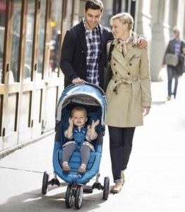 Baby Jogger City Mini Stroller in Teal, Grey Frame, BJ11429 @ Amazon