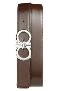 Salvatore Ferragamo 'Basics' Reversible Leather Belt @ Nordstom