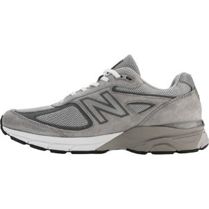 Mens New Balance 990v4 Running Shoe - Grey/Castlerock - FREE Shipping & Exchanges