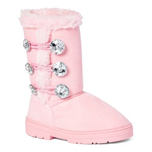 Chatz by Chatties Light Pink Three-Button Boot | zulily