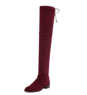 11% Off Stuart Weitzman Lowland Stretch-Suede Over-the-Knee Boot @ Bergdorf Goodman, Dealmoon Singles Day Exclusive