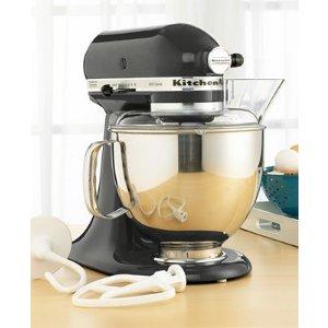 KitchenAid KSM150PS Stand Mixer, 5 Qt. Artisan in Caviar
