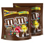 $12.75 M&M'S Milk Chocolate Candy Party Size 42-Ounce Bag (Pack of 2)