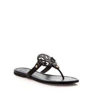 Tory Burch Flat Thong Sandals - Miller | Bloomingdale's