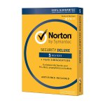 Norton® Security Deluxe, For 5 Devices, 1-Year Subscription, Download Version