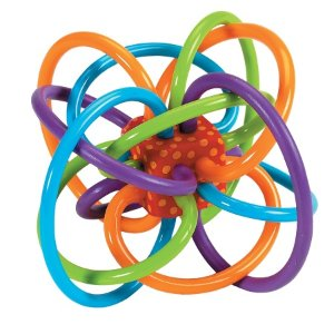Manhattan Toy Winkel Baby Rattle & Teether, Ages 0-12 months | Walgreens