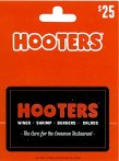 $20 $25 Hooters Gift Card