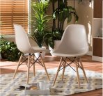 $99 Wood Leg Accent Chairs (Set of 2)