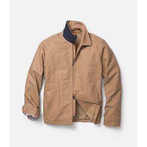 Cotton Zip Supply Jacket - JackSpade