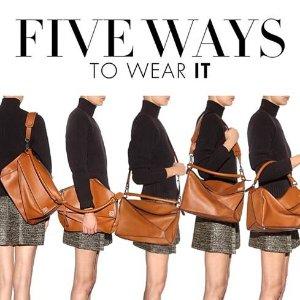 Up to 15% Off Loewe Women's Handbags @ Luisaviaroma