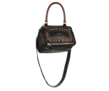 Givenchy Pandora Small Studded Leather Shoulder Bag