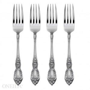 Oneida Wordsworth Set of 4 Dinner Forks, Casual Flatware - BOGO Sets/4 Flatware - Sale