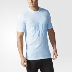 adidas Basic Tee Men's Blue