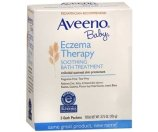 Aveeno Baby Eczema Therapy Soothing Bath Treatment, Single Use Packets