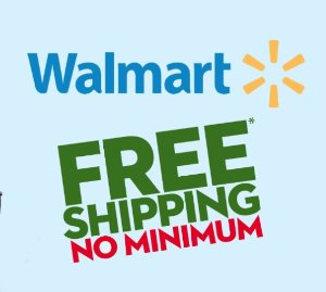 FREE! FINAL TIME! Free Shipping on Any Orders, No Minimum @ Walmart