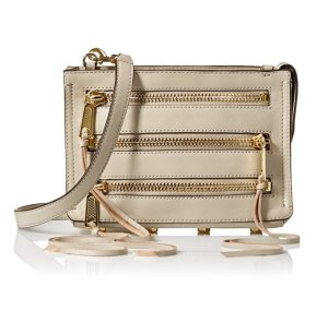 $60.26 Rebecca Minkoff Moto 3 Zip Cross Body