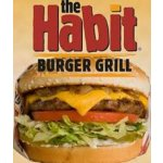 Charburger with Cheese @ the habit