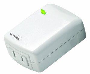 $23.64 Leviton VRPD3-1LW Vizia RF + Series 300 Watt Scene Capable Plug-In Lamp Dimming Module