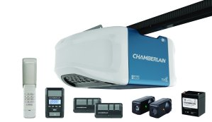 Chamberlain WD1000WF Whisper Drive Garage Door Opener with UQ Operation and Battery Backup