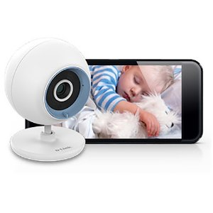 $39.99 D-Link DCS-800L Wi-Fi Day/Night Baby Monitor with Remote Video & Audio Monitoring