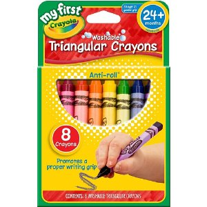 Crayola My First Washable Crayons 8-Pack - Crayola - Toys