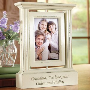 Personalized Rotating Photo Frame, Single or Double - Walmart.com