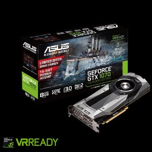 As low as $404.99 ASUS GeForce GTX 1070 Founders Edition