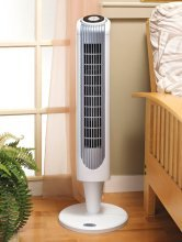 $39.99 Holmes 36 Inch Oscillating Tower Fan with Remote Control