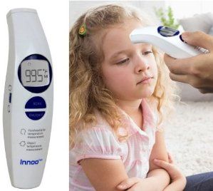 Innoo Tech Digital Infrared Thermometer Forehead Baby Thermometer Non-Contact Medical Measurement