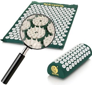 $44.97(reg.$144.87) Nayoya Back and Neck Pain Relief - Acupressure Mat and Pillow Set