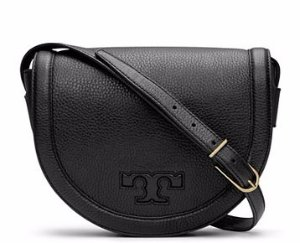 $220.5(Org.$450) Tory Burch SERIF-T SADDLEBAG