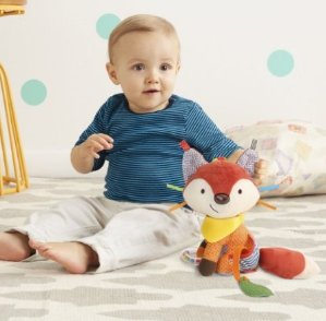 Skip Hop Bandana Buddies Activity Toy, Fox