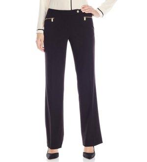 Calvin Klein Women's Straight-Leg Suit Pant