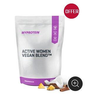 $49.993 x 2.2lb Active Woman Vegan Blend