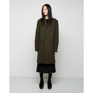 MARNI | Wool Melton Menswear Coat | Shop at La Garçonne