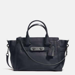 COACH soft swagger in soft grain leather by Coach