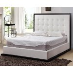 LANGRIA Premium 10 Inch Gel Infused Memory Foam Mattress