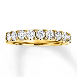 Kay - Diamond Anniversary Band 1/2 ct tw Round-cut 14K Yellow Gold