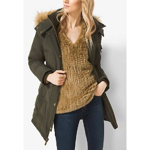 MICHAEL MICHAEL KORS Quilted Down Parka