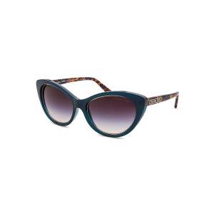 Michael Kors MK2014-CL-306348 Sunglasses,Women's Paradise Beach Cat Eye Teal Sunglasses, Sunglasses Michael Kors Sunglasses Sunglasses