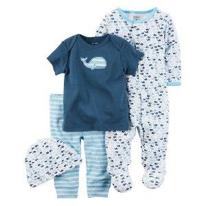 Baby Boy 4-Piece Take-Me-Home Set   Carters.com