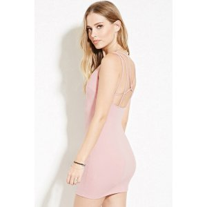 Strappy-Back Bodycon Mini Dress | Forever 21 - 2000186192