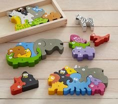 BeginAgain Animal Parade A-Z Puzzle