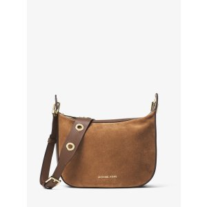 Raven Medium Suede Messenger Bag by Michael Kors | Spring - Free Shipping. On Everything
