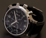 $1495 Longines Heritage Military 1938 Chronograph Black Dial Men's Watch L27904530