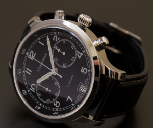 Longines Heritage Military 1938 Chronograph Black Dial Men's Watch L27904530