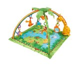 Fisher-Price Rainforest Melodies & Lights Deluxe Activity Gym : Target