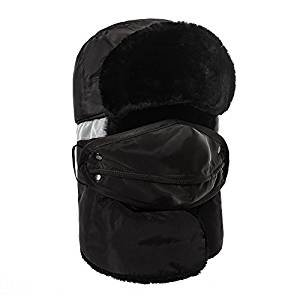 $9.99 Mysuntown 2016 New Style Unisex Winter Trapper Trooper Hat with Windproof Mask