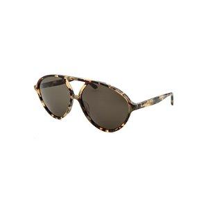 Valentino Women's Fashion Vintage Havana Sunglasses